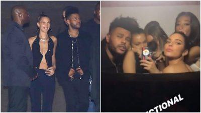 Bella dhe The Weeknd e bëjnë zyrtare në festën e Kylie. Këngëtari poston videon sensuale të modeles