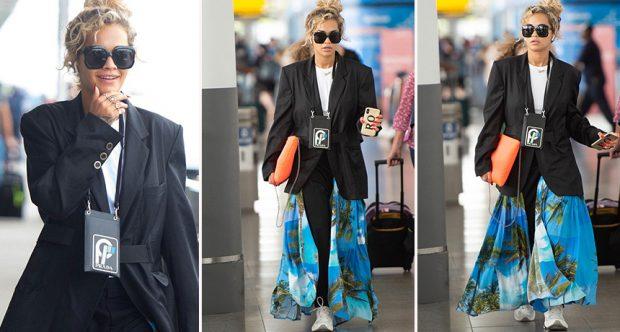 """ÇMIMET MUZIKORE """"MTV VMA 2018″/ Rita Ora sapo vendosi një trend në modë (FOTO)"""