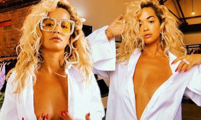 """ME KËMISHË TË HAPUR/ Këngëtarja me famë botërore shfaqet më e """"nxehtë"""" se kurrë… (FOTO)"""