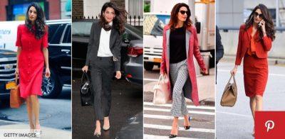 """""""Chic"""" në zyrë si Amal Clooney/ Ja 10 ide veshje për në punë (FOTO)"""