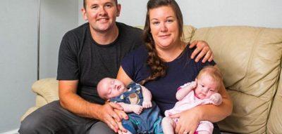 Gruaja me DY MITRA  lind binjakë  (FOTO)