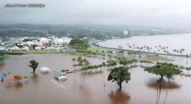 90 CENTIMETRA SHI BRENDA DY DITËVE/ Ja cili është vendi që po përballet me këtë fatkeqësi…(Video)