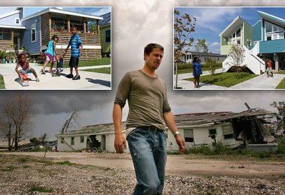 """Brad Pitt ndihmoi pas uraganit """"Katrina"""" duke ndërtuar shtëpi/ Banorët e New Orleansi do ta padisin (FOTO)"""