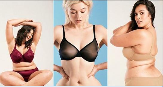 """Një fushatë reklamash të të brendshmeve me femra të """"zakonshme"""" (FOTO)"""
