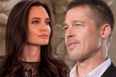 """""""TEKAT"""" E DIVORCIT/ Angelina ende e dashuruar me Brad Pitt (FOTO)"""