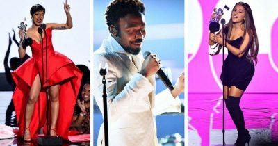"""NDARJA MUZIKORE E ÇMIMEVE """"MTV VMA 2018″/ LISTA ZYRTARE: Ja kush fitoi, mes tyre edhe RITA ORA"""