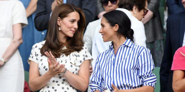 """MIQËSI KUNATASH/ Kate Middleton  është """"shtylla"""" ku Meghan Markle mbështetet (FOTO)"""