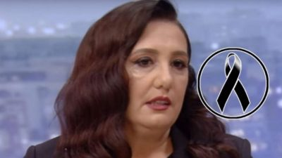 Ditë zie për Aida Shtinon/  Moderatorja e njohur humb njeriu e saj të shtrenjtë (FOTO)