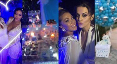 PARTY PËR DJALIN QË DO LINDË/ FOTO: Ja kush nga VIP-at shqiptarë mori pjesë në festën e Adelinës