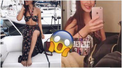 PA DHËMBË/ Këngëtarja shqiptare nuk njihet në VIDEON e çuditshme