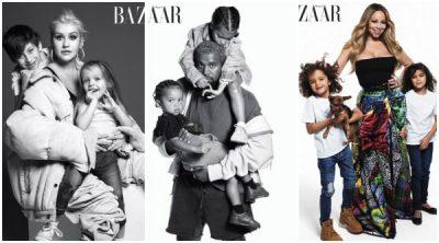 Fotografitë më të ëmbla, këngëtarët e njohur pozojnë përkrah fëmijëve të tyre