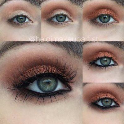 """Sy jeshil """"të magjishëm""""/ Zbuloni cili është Makeup-i i duhur (FOTO)"""