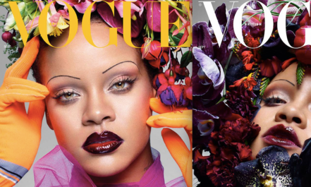 """Rihanna për """"British Vogue"""": Jam krenare për fundshpinën dhe për format e mia (FOTO)"""