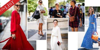 VJESHTË 2018/ Modelet e fustaneve të vjeshtës që nuk duhet t'i humbisni… (FOTO)