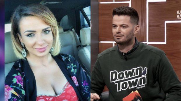 ÇIFTI I RI I EKRANIT/ Xhensila Pere propozon Live moderatorin (VIDEO)