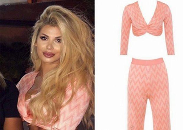 U fiksuat me veshjen pink të Luana Vjollcës/  Ja sa ka kushtuar (FOTO)