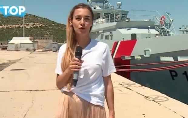 """Ilir Mati bën për """"ujë të ftohtë"""" gazetaren e Top Channel: O kolegë, STUDIONI para se… (VIDEO)"""