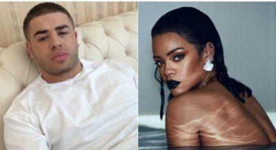 """NOIZY """"TMERRËSISHT"""" I DASHURUAR/ """"Do të doja të ishe Rihanna dhe""""… (FOTO)"""