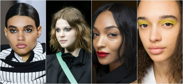 VJESHTË 2018/ Çdo pamje Make-up që duhet të shikoni nga pasarelat e ikonave të modës… (FOTO)