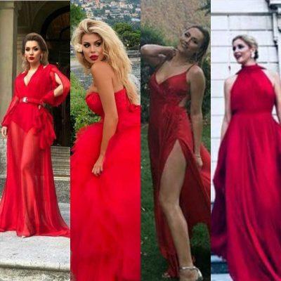 Xing të kuqesh/ Shihni femrat që zgjodhën të njëjtën ngjyrë në ceremonin e dasmës (FOTO)