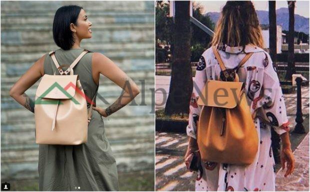 """Jonida Maliqi dhe Majlinda Bregu """"PADASHJE"""" bëjnë XING me çantat e tyre (FOTO)"""