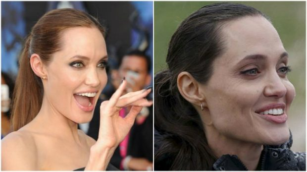 NDRYSHIMI DRASTIK/ Angelina Jolie fotografohet nga paparacët dhe duket kaq… (FOTO)