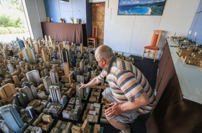 E RRALLË NË GJERMANI/ Punon 65 vite për të ndërtuar një qytet prej kartoni (FOTO)