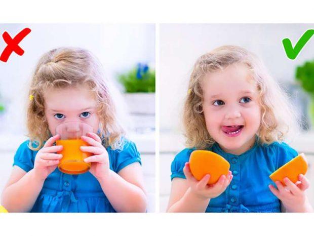 3 ushqimet e gabuara që u jepni fëmijëve tuaj
