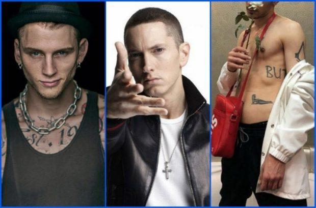 JO VETËM ''MACHINE GUN KELLY''/ Ky reper shqiptar i dedikon Diss-in e fuqishëm Eminem-it (FOTO)