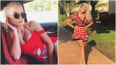 ÇFARË PO FSHEH ATY? Marina Vjollca poston videon me bikini, por të gjithëve na mbetën sytë tek… (FOTO)