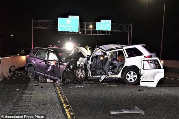 Alkoolistja hyn në krah të kundërt në autostradë, vdes familja
