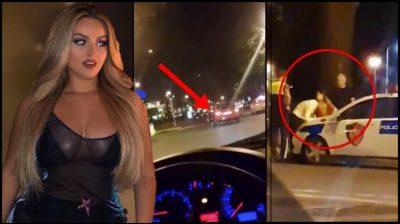 Enca bën aksident në 2 të mëngjesit/  Ja e vërteta dhe gjendja e këngëtares (VIDEO)