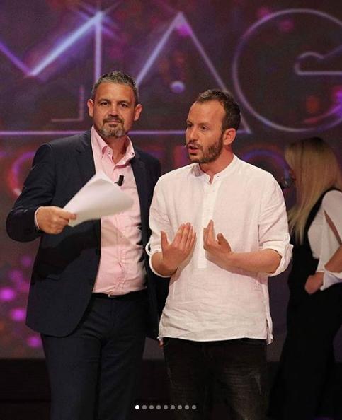 """LARGOHET NGA """"TOP SHOW""""/ Gazetari shkruan fjalët emocionuese për Alban Dudushin edhe stafin (FOTO)"""