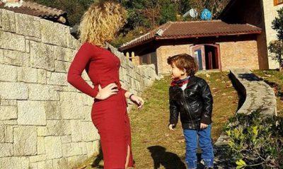 """""""QOFSH NJË RREZE DRITE E NGROHTË NË KËTË BOTË""""/ Moderatorja shqiptare emocionon me urimin për djalin"""