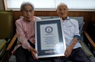 """Fitojnë rekordin """"Guiness""""/ Njihuni me çiftin e martuar prej 80 vitesh (FOTO)"""