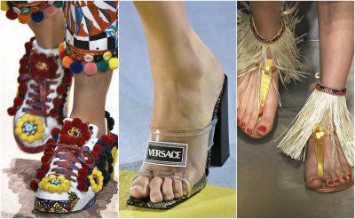 DO I ADHURONI/ Shihni këpucët më të mira nga java e modës në Milano (FOTO)