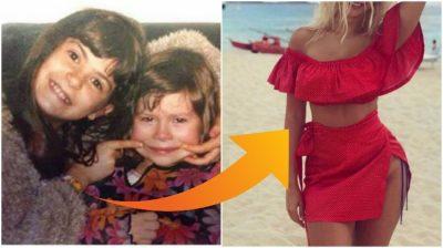 Sot është një prej moderatoreve më seksi/  Me siguri nuk do ta njihni Marina Vjollcën me këtë FOTO të fëmijërisë