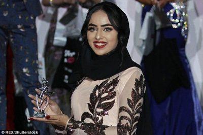 Myslimanja e parë me hixhab në finalen e Miss Anglia