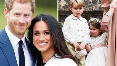 """Pa lodra dhe dhurata të shtrenjta! Ja si ua """"vjedhur"""" zemrën Meghan dy vogëlushëve mbretërorë"""