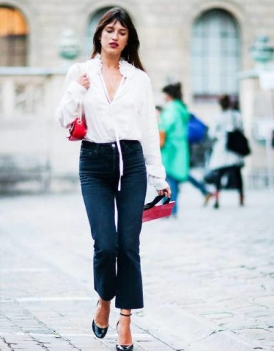 """""""ZBULONI SEKRETET""""/ Ja çfarë të vishni me xhinset e zeza që të dukesh si një parisiene (FOTO)"""