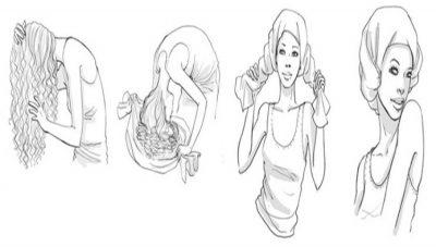Si t'i bëni flokët kaçurrela me ndihmën e një bluze pambuku