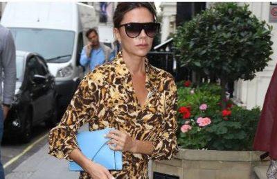 Hoqi dorë nga e zeza/ Veshja e Victoria Beckham po kthehet në trend