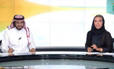 Spikerja e parë grua që drejton një edicion lajmesh në Arabinë Saudite