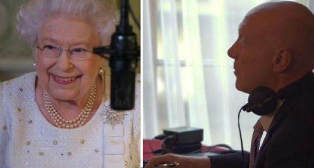 I NDËRPRESIN FJALIMIN/ Mbretëresha Elisabet shpërthen në të qeshura