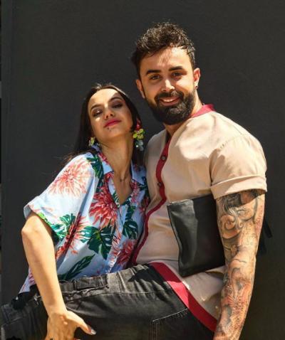 """""""DY TË ÇMENDUR BASHKË""""/ Fatma dhe Alfio duken të dashuruar marrëzisht  (FOTO)"""