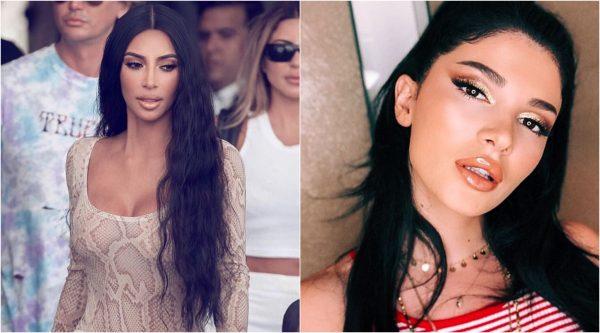 """TË MBULUARA ME """"DOLLARË""""/ Kim Kardashian """"i vjedh idenë"""" Era Istrefit (FOTO)"""