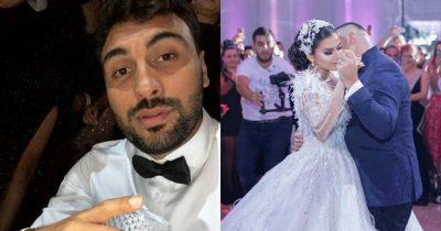 Momenti që nuk u pa nga dasma e Elitës dhe Gjikos/ Ledri Vula dehet dhe zhvishet (VIDEO)