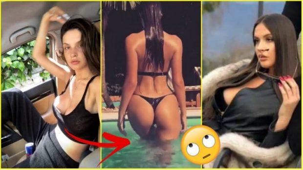 Oriola Marashi poston videon me tanga nga pishina/ I bëjnë kritike për të pasmet. Modelja nuk ua përton me përgjigjen
