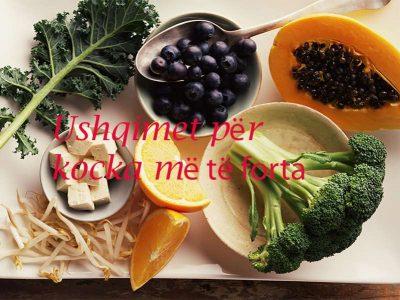Për kocka më të forta konsumoni këto ushqime