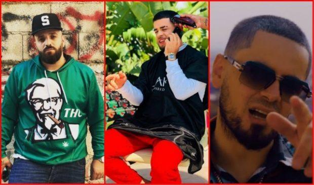 MESAZH I KODUAR? Lil Koli dhe Varrosi i shkruajnë në publik, Noizy ju kthen këtë përgjigje… (FOTO)
